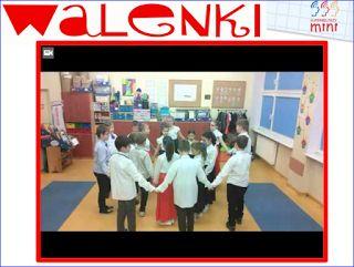 """Tańczymy """"Walenki"""" ~ Zamiast kserówki. Edukacyjne gry i zabawy dla dzieci."""