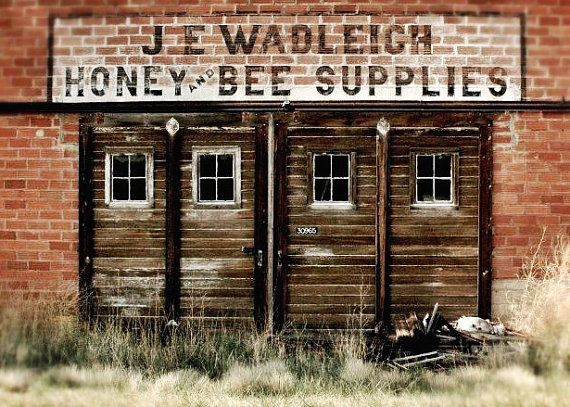 Honey Bee Supplies fine art print ready to by PollenPictures, $10.00  DEAL OF THE DAY:  50% OFF your purchase of $20 or more!!!  ----- Use code: 241SALE1117----  Good for today only, Nov. 17th 2013!!