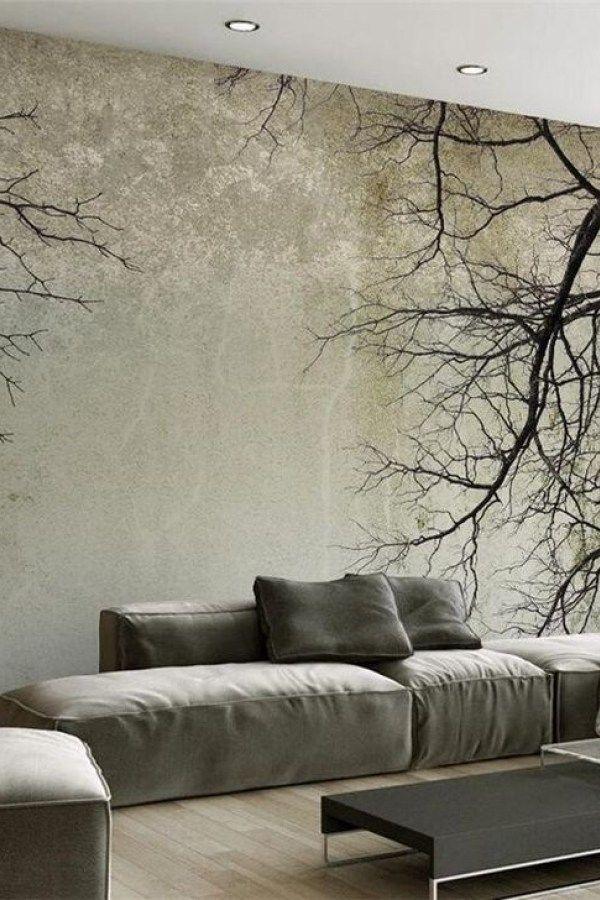 48 Perfect 3d Wallpapaer Design Ideas For Living Room Cool wallpaper for living room