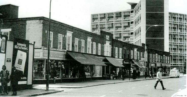 Patrick's Toy Shop, Lillie Road  1974
