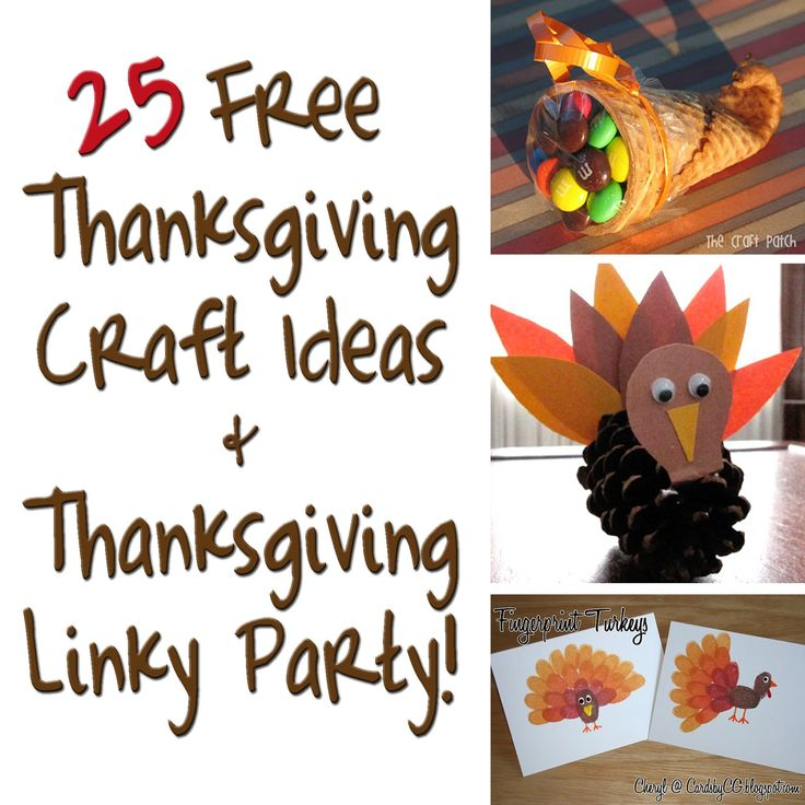 As November begins, I thought I would share a list of some of the top November crafts and activities I have found while browsing Pinterest. I love looking for fun holiday hands-on activities for kids. I wish I could be as creative as these bloggers! The crafts below can be done at home or in the classroom leading up to Thanksgiving. over at Bed Rested Teacher.