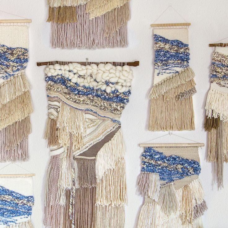 801 best Woven Art images on Pinterest   Loom knitting ...