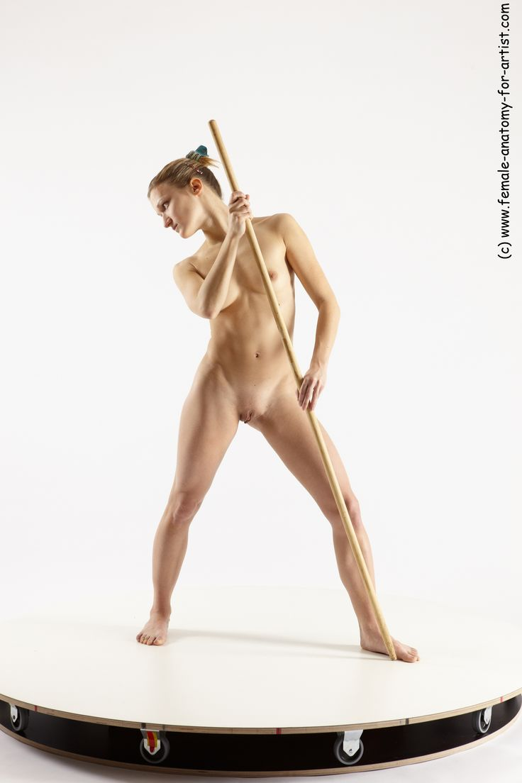 WORTH Naked fighting pose think she