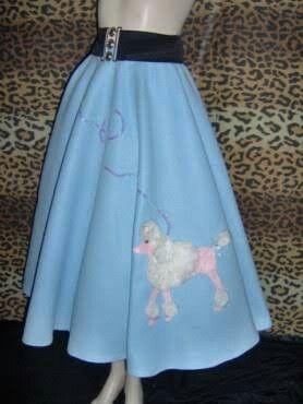Poodle Skirts Rock N Things I Love Vintage Inspired 1950s Poodles Cockapoo