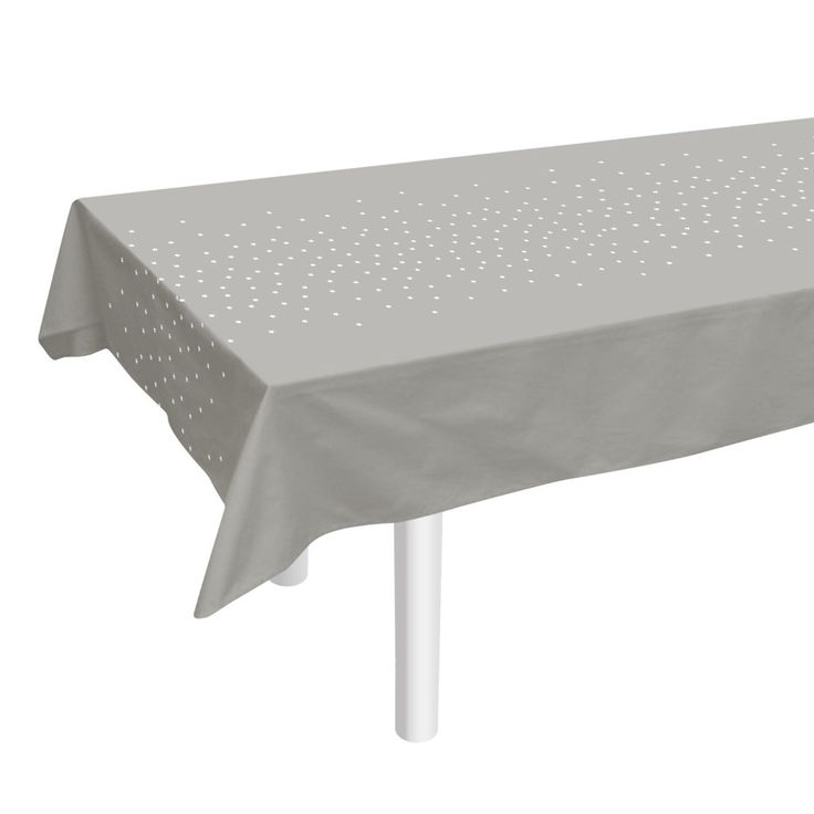 Grey Tablecloth - Tableware