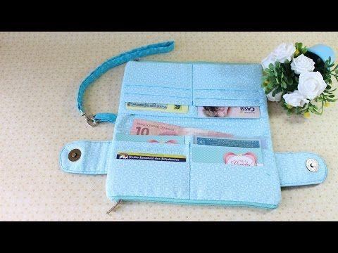 Como fazer uma bolsa carteira com Arte de Paninho