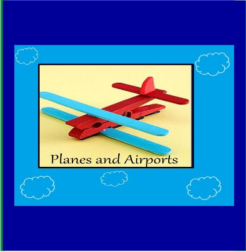 Planes and airports --Planes and airports are one of my favourite among the little boys...and believe it or not a whole lot of girls as well. In this theme your little one will learn all there is to know about planes and the importance of the airport. With 43 pages of flying fun, and inspiring worksheets, arts and craft etc.