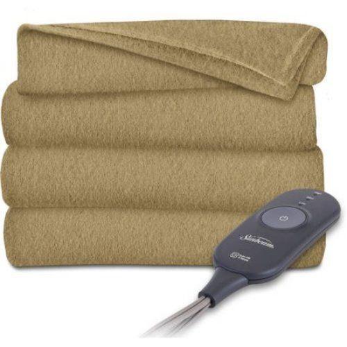 Electric Heated Throw Blanket Warming Heat Fleece ThrowsBedding Home Bedroom NEW #1