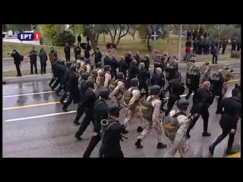 28η Οκτωβρίου στρατιωτική παρέλαση Θεσσαλονίκη