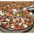 Bonjour ! Le casse-tête des dîners est toujours présent ! En période d'été , une salade composée est la bienvenue ! Alors voilà une...