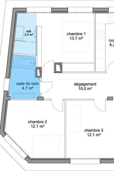 Aménager une salle de bains  les 5 règles à connaître sdb