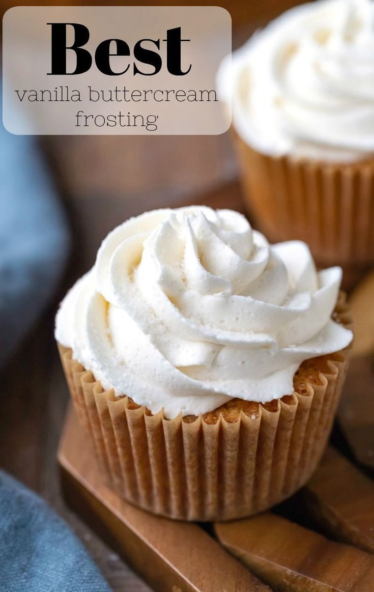 Vanilla Buttercream Frosting I Heart Eating Recipe Vanilla Frosting Recipes Frosting Recipes Cupcake Frosting Recipes