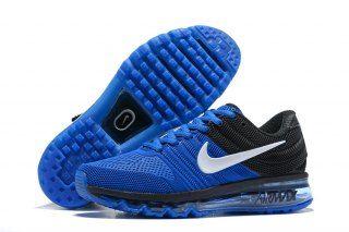 sports shoes 9608b 9fa79 Mens Nike Air Max 2017 KPU Running Shoes Royal Blue Black White 849560 701