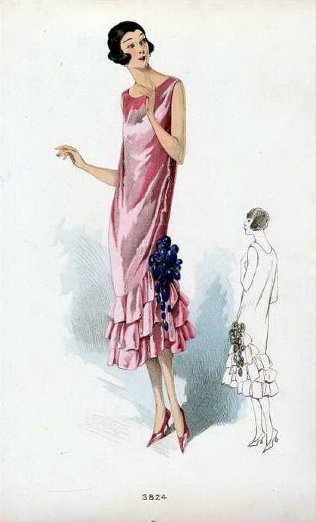 В наше время стиль гламур в основном направлении педставляет излишества и вульгарность.В одежде и аксессуарах используется всё, что блестит и привлекает внимание:стразы,бисер,туфли на высоком каблуке,броский макияж.Но в этой публикации я расскажу о зарождении этого стиля в 20-х годах прошлого века. Происхождение слова 'гламур' Это слово на слух кажется французским, но на самом деле оно считается…