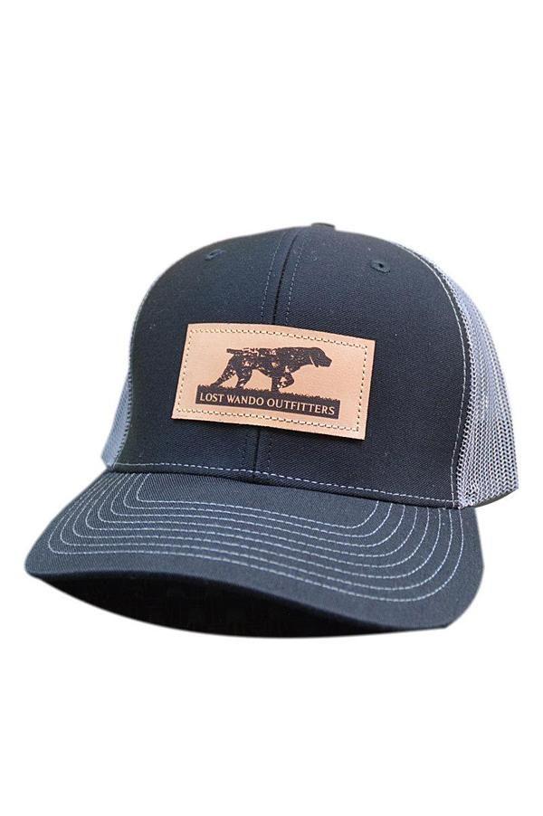 89d3b9b23d289 NC Pointer Leather Patch Hat