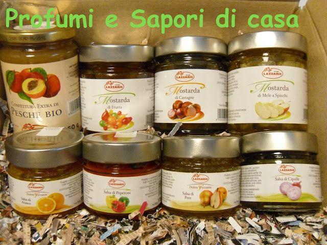 Profumi e Sapori di casa: Lazzaris - Salse,Confetture,Mostarde