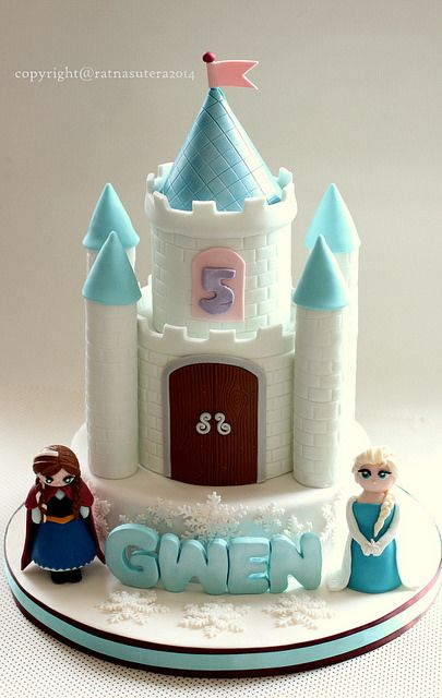 Frozen Castle Cake | Flickr - Photo Sharing!