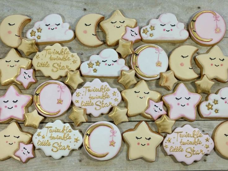 Pin By Kim Knemeyer On Cookies Baby Shower Twinkle