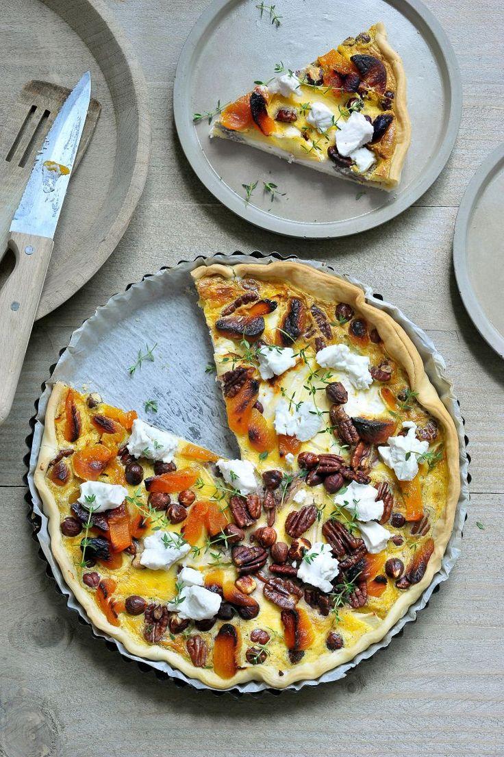 Quiche met appel en geitenkaas http://www.njam.tv/recepten/quiche-met-appel-en-geitenkaas