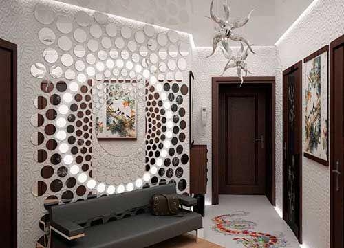 Как украсить стену в комнате своими руками?