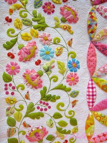 Hand made quilt- exquisite