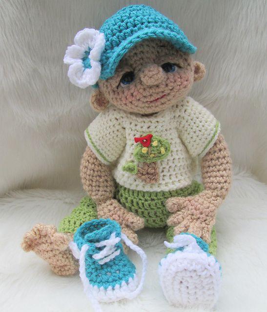 Ravelry: So Cute Baby Doll Play Wear Set pattern by Teri Crews