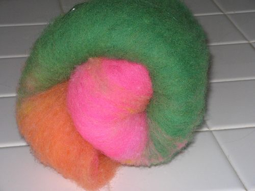 Hungry Batts: Rainbow Sherbert