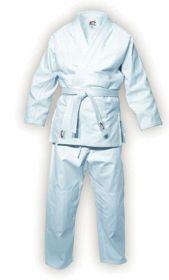 Kimono karate Spokey 180 85122. Wysokiej jakości kimono do karate oraz innych sztuk walki wykonany z bardzo dobrej jakości bawełny. #kimono #karate #sportywalki