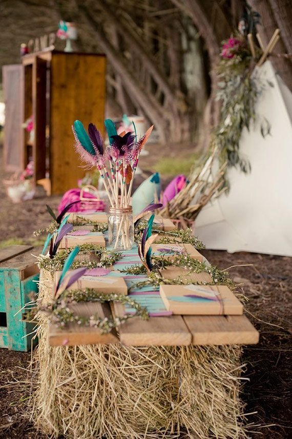 Camp Talia girl's camp-themed 10th birthday | Design by Ivy and Oak Events | Photos by Katie Toland | See more on 100 Layer Cakelet #kidbirthday