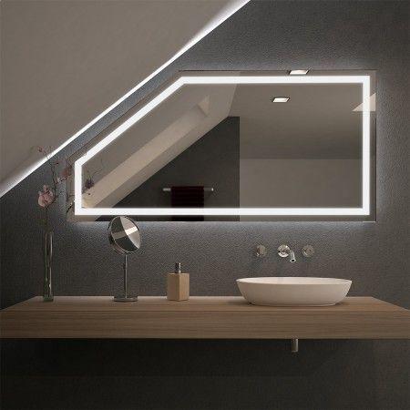 Spiegel Fur Dachschragen Mit Led Beleuchtung Fiola 989707058
