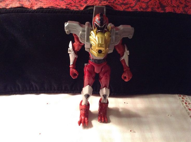 "Power rangers RPM mammoth ranger guardian figure. missing accessories 6""  | eBay"