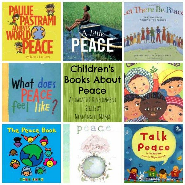 1-Books about Peace for Children