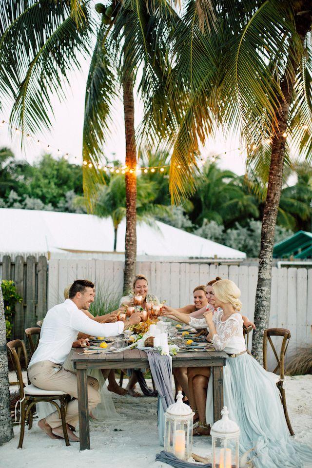 Destination Wedding Florida   Key Largo Reception Wedding Destination Wedding Destin Florida