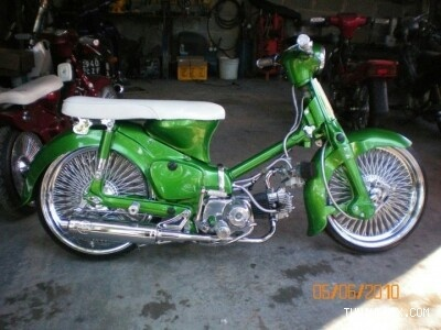 Your bike may be cool, this Honda c90 is coolerer. #MOBrules