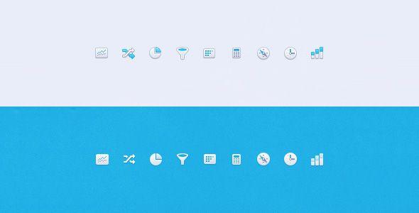 Mixpanel navigation icon design | Ui Parade – User Interface Design Inspiration