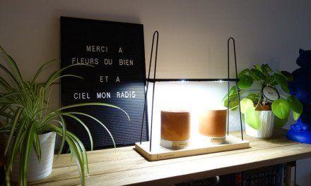 Présentation du potager d'intérieur Jean Racine de Ciel mon radis!