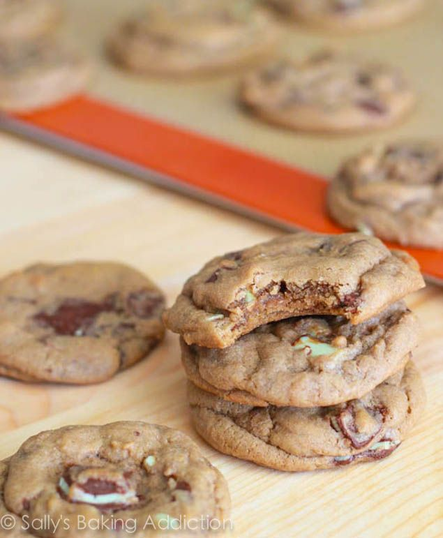 Chocolate covered mint cookies recipes