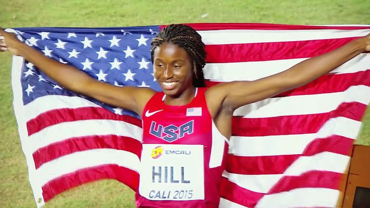 Trans World Sport profile on 16-year-old US sprint sensation Candace Hill. You re going to be hearing a lot more a about her in the years to come Candace Hill (born February 11, 1999) is an American track and field athlete who competes in the 100 metres and 200 metres. She currently attends Rockdale County High School in Conyers, Georgia. She became the world s first high school woman to break the 11-second barrier in the 100 meters sprint at the