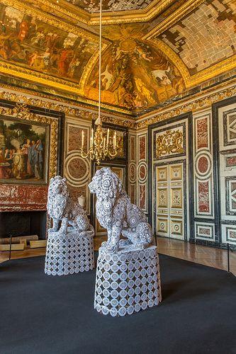 Salle des Gardes de la Reine, Chateau de Versailles, France