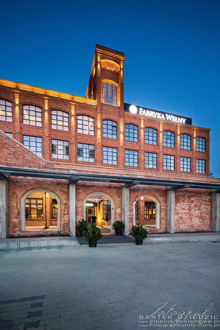 Hotel Fabryka Wełny. Zdjęcia reklamowe Łódzkie