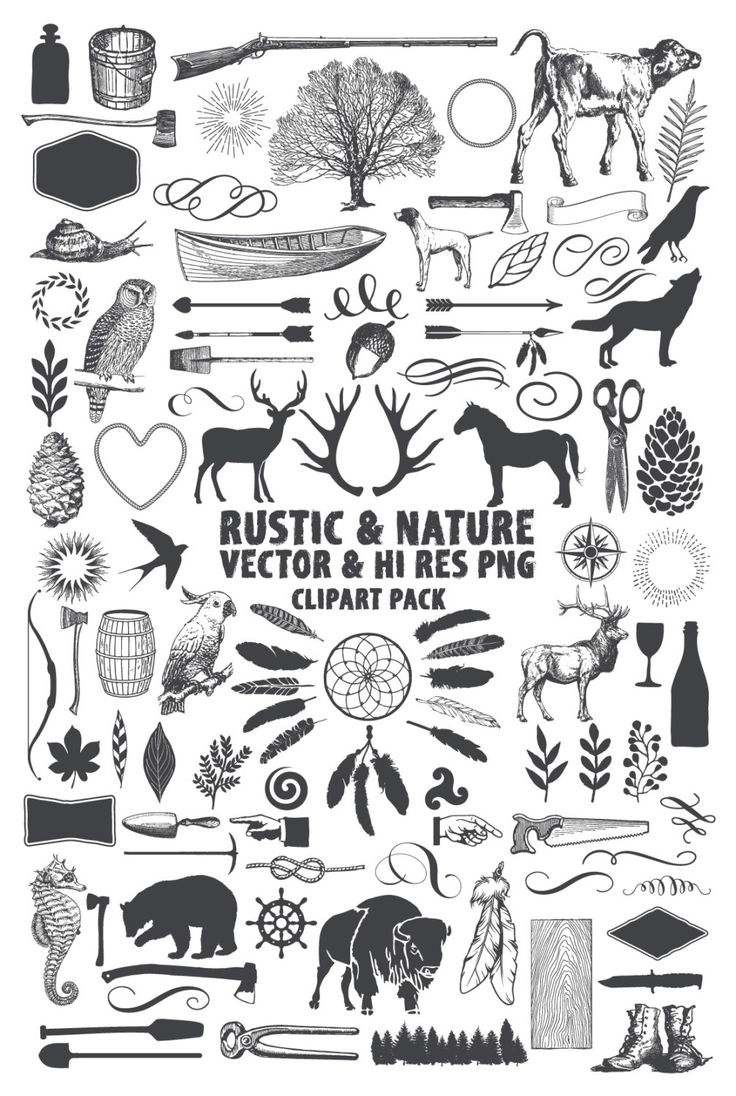 Instant Download 101 Rustic Nature Hunting Adventure Wilderness Vector Pack Design Elements Clipart Clip Art Vector and PNG Files by seaquintdesign on Etsy https://www.etsy.com/listing/261951637/instant-download-101-rustic-nature