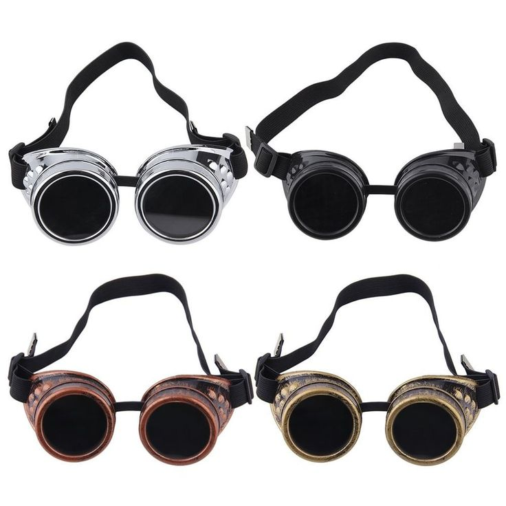 New Goggle Cyber Steampunk Glasses Vintage Retro Welding Punk Gothic XP #UnbrandedGeneric