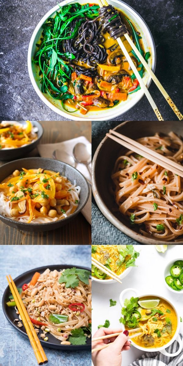 22 Gluten Free Vegan Rice Noodle Recipes Moon And Spoon And Yum Rice Noodle Recipes Rice Noodles Vegetarian Rice Noodle Recipes