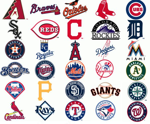 Baseball has a long history in America, and that history includes a lot of different logos.