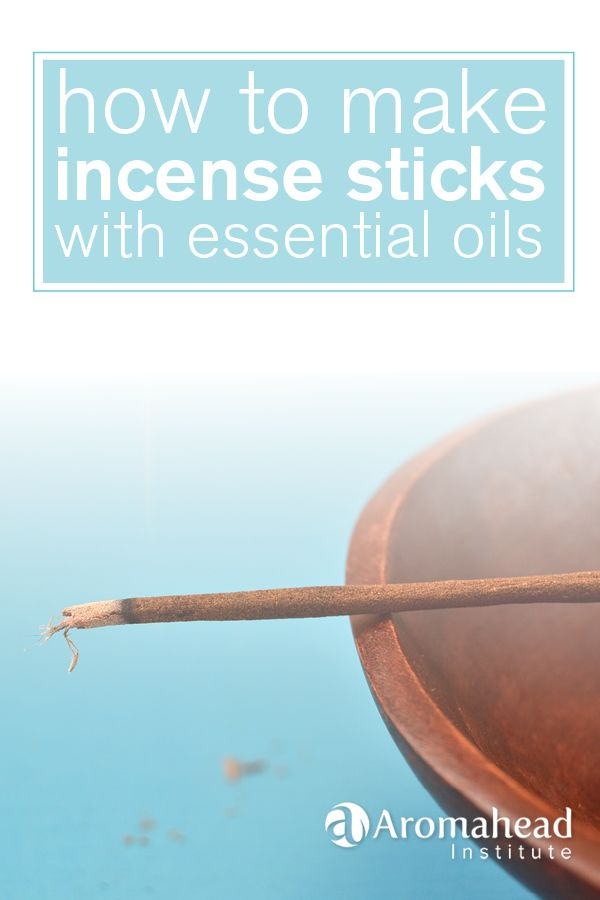 I love burning incense - I'm a fan of loose incense, stick incense and cone incense!!   I especially love to make my own incense so I can customize the scent.  In this blog post I share how I use essential oils to scent blank sticks.  Enjoy!! http://www.aromahead.com/blog/2015/02/16/make-incense-sticks-essential-oils/