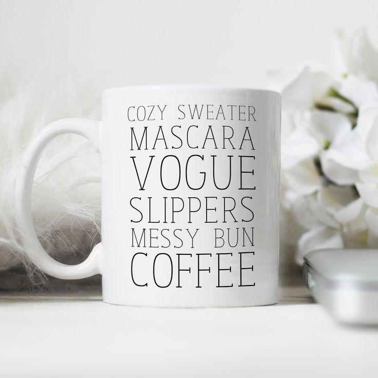 Coffee Mug,Cute Mug, Personalized Mug, Gift for Her, Girly Mug, Preppy Mug, Mother's Day Gift, Bridesmaid Gift by JustAPrettyTypeface on Etsy https://www.etsy.com/listing/228061397/coffee-mugcute-mug-personalized-mug-gift