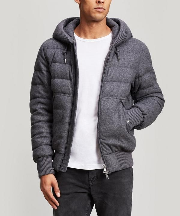 5788264ca MONCLER RENOIR QUILTED WOOL AND CASHMERE-BLEND JACKET.  moncler ...