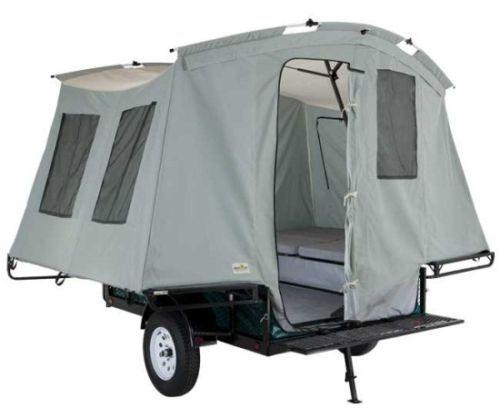 Camper With Outdoor Kitchen: Jumping Jack Pop Up Tent Camper, Trailer, Atv Hauler
