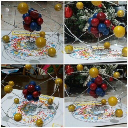 best atom project ideas atom model project  atom model project