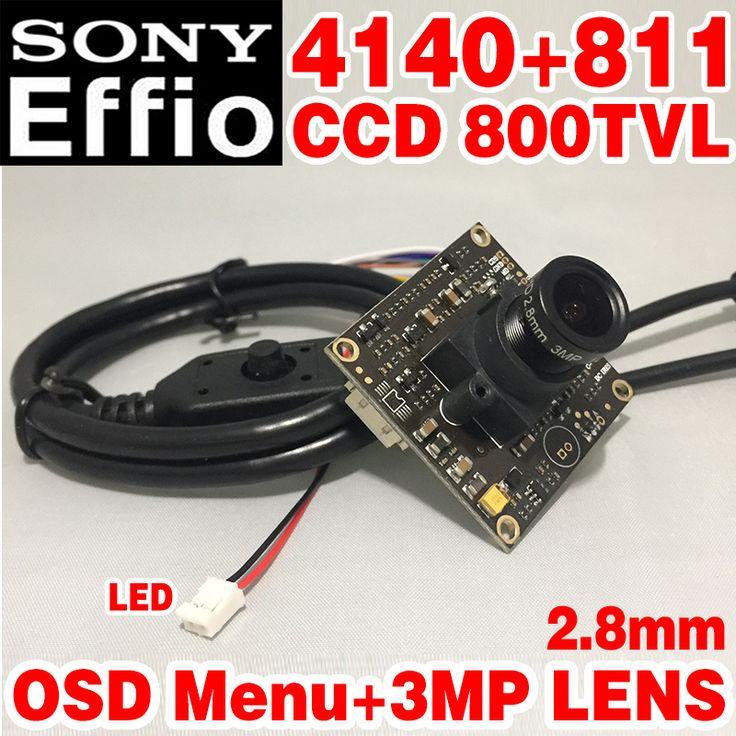 "$13.80 (Buy here: https://alitems.com/g/1e8d114494ebda23ff8b16525dc3e8/?i=5&ulp=https%3A%2F%2Fwww.aliexpress.com%2Fitem%2F1-3-Sony-Effio-e-4140-811-800TVL-2-8mm-Lens-Wide-View-CCD-CCTV-Camera%2F32742998397.html ) Hot Sale 1/3""Sony CCD Effio 4140+811 Simple hd chip module 2.8mm 3.0mp lens big Wide Angle osd menu mini Color image home Video for just $13.80"